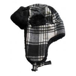 Svart/Vit hat