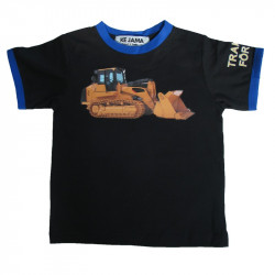 T-shirt med caterpillar motiv