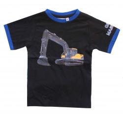 T-shirt med grävmaskinsmotiv