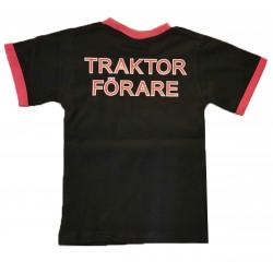 T-shirt med traktor motiv