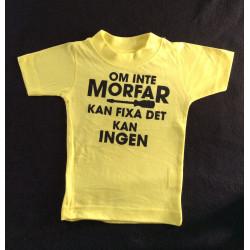 Barn t-shirt med texten Om...