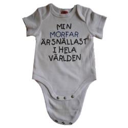 Baby bodys med texten MIN...