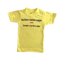 Barn t-shirt med texten Jag...