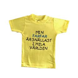 Barn t-shirt med texten Min...