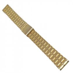 Guldpläterat stål klockarmband