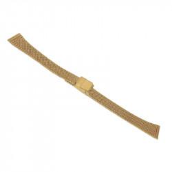 Guldpläterat klockarmband i...