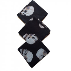 Bandanascarf, dödskullmotiv