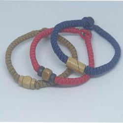 Armband med träpärlor, 3 pack