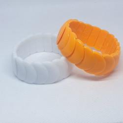 Armband med plastpärlor 2 pack