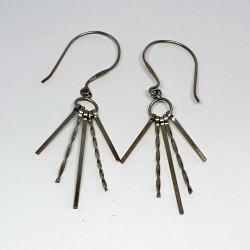 Örhängen i silver med krok
