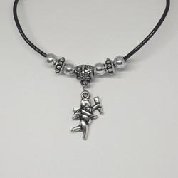 Halsband med hänge, ängel...