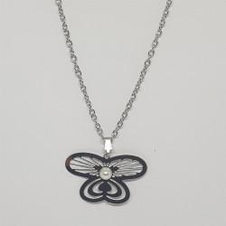 Halsband, fjäril motiv