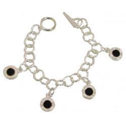 Silverpläterat armband