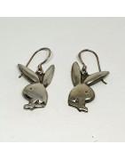 Silver örhängen